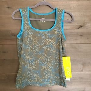 LOLE Rhythm Workout Hike Outdoor Floral Tank Top